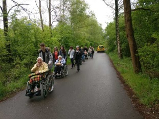 Rollstuhlfahrer Ausflug 2018: Förderung durch den LSF